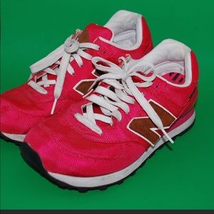 New Balance Hot Pink Sneakers